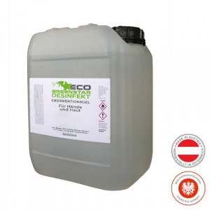 ECO GREENSTAR DISINFECT hand gel 5000ml canister