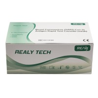 Realy Tech Novel Coronavirus (SARS-COV-2) Antigen Rapid Test Kit (swab)